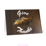 Give Thanks Card Carina Nebula